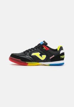 Joma - TOP FLEX - Chaussures de foot en salle - black/multicolor