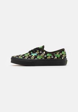 Vans - THE SIMPSONS AUTHENTIC GLOW IN THE DARK - Sneakers basse - black