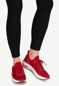 Tamaris Fashletics - LACE-UP - Sneakers laag - scarlet