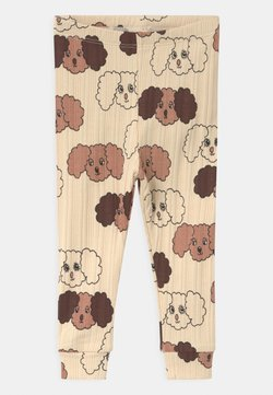 Mini Rodini - FLUFFY DOG UNISEX - Legging - beige