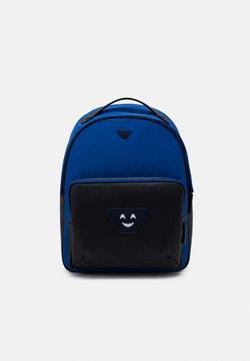 Emporio Armani - BACKPACK - Reppu - brightblue/electric blue/black