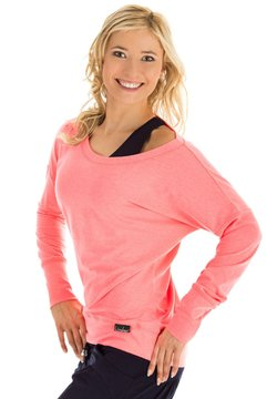 Winshape - LONGSLEEVE - Sweatshirt - neon coral