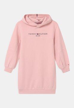 Tommy Hilfiger - ESSENTIAL HOODIE - Freizeitkleid - delicate pink