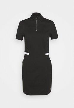 Calvin Klein Jeans - ZIP MILAN - Vestido de tubo - black