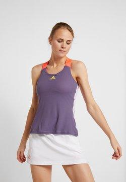 adidas Performance - TANK - Funktionsshirt - purple