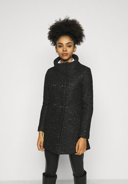 ONLY Petite - ONLNEWSOPHIA COAT - Short coat - black/melange