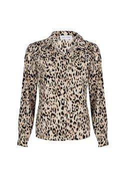 Jacky Luxury - MET PANTERPRINT - Overhemdblouse - leopard