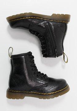 Dr. Martens - 1460 J  Crinkle Metallic - Schnürstiefelette - black metallic