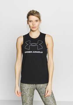 Under Armour - SPORTSTYLE GRAPHIC TANK - Funktionsshirt - black