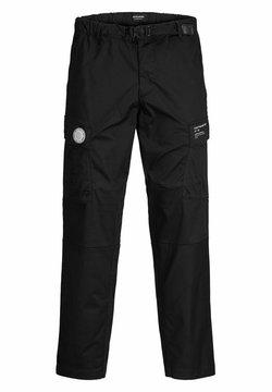 Jack & Jones - ACE PETE - Cargo trousers - black