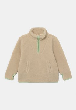 Gina Tricot - MINI PILE - Fleece trui - soft beige