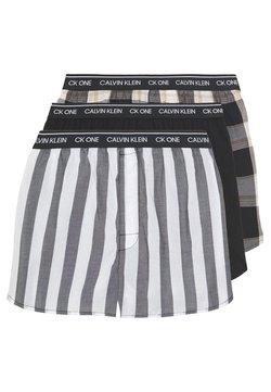 Calvin Klein Underwear - BOXER SLIM FIT 3 PACK - Boxershorts - black