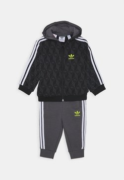 adidas Originals - HOODIE PACK SPORTS INSPIRED TRACKSUIT UNISEX - Survêtement - black/grey five/white
