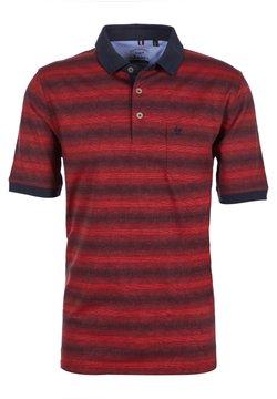 hajo Polo & Sportswear - JACQUARD - Poloshirt - dunkelblau