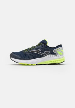Joma - VICTORY - Neutral running shoes - navy/lemon