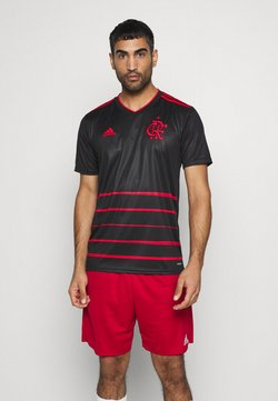 adidas Performance - CR FLAMENGO AEROREADY SPORTS FOOTBALL - Klubtrøjer - black/red