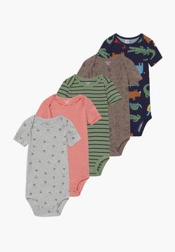 Carter's - SAFARI 5 PACK - Body - multi-coloured/green/orange