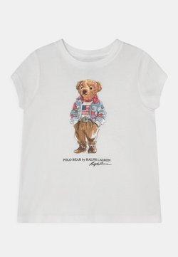 Polo Ralph Lauren - BEAR TEE - T-shirt med print - white