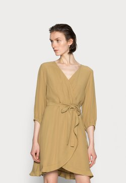 Cream - NORAH DRESS - Kjole - fennel seed