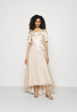 Adrianna Papell - EMBROIDERED GOWN - Occasion wear - champagne/ivory