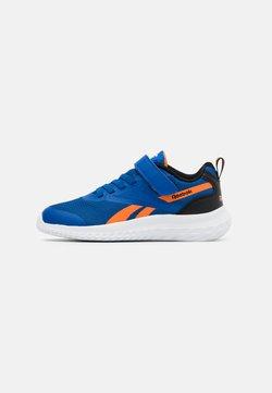 Reebok - RUSH RUNNER 3.0 - Chaussures de running neutres - vector blue/high vision orange/black