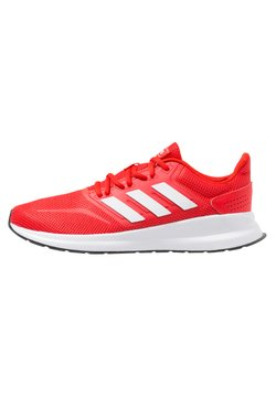 adidas Performance - RUNFALCON - Zapatillas de running neutras - active red/footwear white/core black