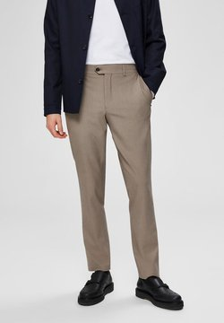 Selected Homme - SLIM FIT - Anzughose - sand