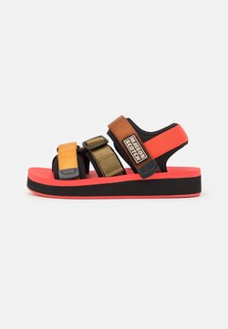 Scotch & Soda - LYDIA  - Plateausandalette - coral