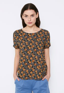 ICHI - TESSA - T-Shirt print - black