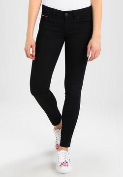 Tommy Jeans - Jeans Skinny Fit - black denim