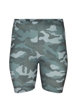 Zizzi - PRINTED - Shorts - green