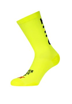Pacific and Co - DON'T QUIT - Sokken - neon yellow