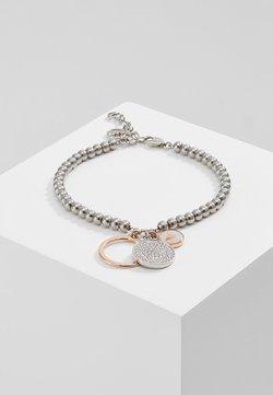 Emporio Armani - Armband - silver-coloured/rose gold-coloured