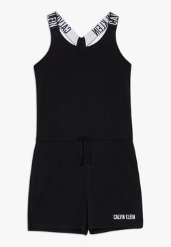 Calvin Klein Swimwear - ROMPER INTENSE POWER - Combinaison - black