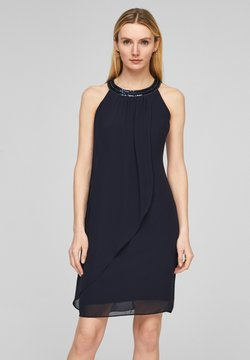 s.Oliver BLACK LABEL - Cocktailkleid/festliches Kleid - dark navy