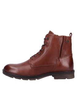camel active - BOTTINES - Schnürstiefelette - brown