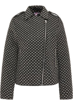 myMo - Leichte Jacke - schwarz weiß