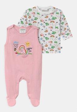 Jacky Baby - COLOUR UP MY LIFE - Haut de pyjama - light pink/white