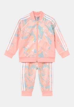 adidas Originals - SET - Chaqueta de entrenamiento - pink tint/multicolor/haze coral