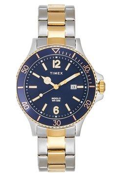 Timex - HARBORSIDE 42 mm BRACELET - Montre - silver-coloured/gold-coloured/blue