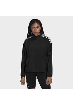 adidas Originals - HALF-ZIP TREFOIL MOMENTS LOOSE - Giacca sportiva - black