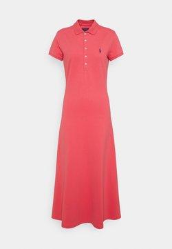 Polo Ralph Lauren - SHORT SLEEVE DAY DRESS - Maxikleid - pale red