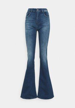 Emporio Armani - Jeans a zampa - blue denim