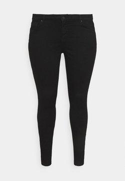Vero Moda Curve - VMLYDIA - Jeansy Skinny Fit - black denim
