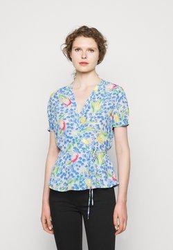 Polo Ralph Lauren - VINTAGE - T-Shirt print - blue