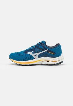 Mizuno - WAVE INSPIRE 17 - Zapatillas de running estables - mykonos blue/silver/saffron