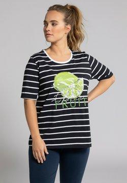 Ulla Popken - T-Shirt print - zwart