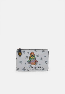 Coach - RAINBOW SIGNATURE SHARKY TURNLOCK POUCH - Pikkulaukku - b4/multi