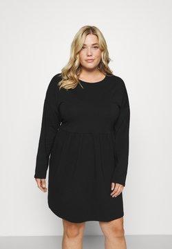 Noisy May Curve - NMKERRY DRESS - Jersey dress - black