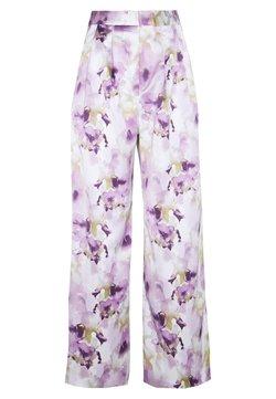 Monki - MINA TROUSERS - Trousers - lilac